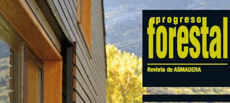Difusión del proyecto «LIFE EUCALYPTUS ENERGY» en la revista PROGRESO FORESTAL