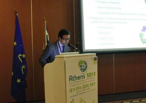 CARTIF ha hecho difusión del proyecto LIFE EUCALYPTUS ENERGY en un congreso en Grecia