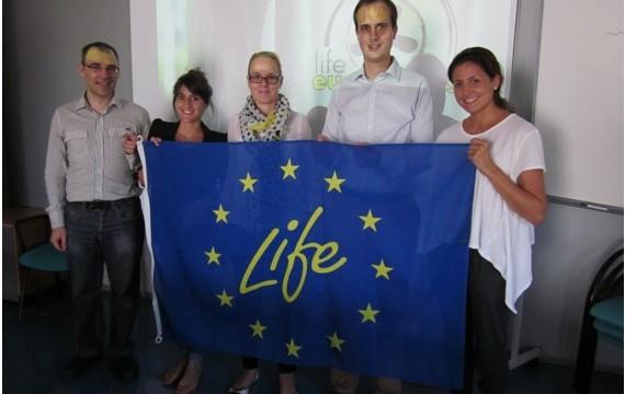 LOS SOCIOS DEL PROYECTO «LIFE EUCALYPTUS ENERGY» se reúnen en la sede de CARTIF