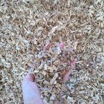 Biomasa astillada